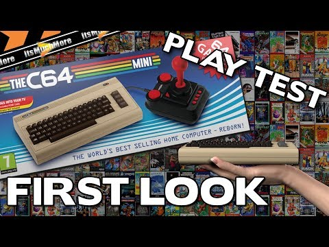 The C64 Mini - First Look & Playtest [Commodore 64] C64