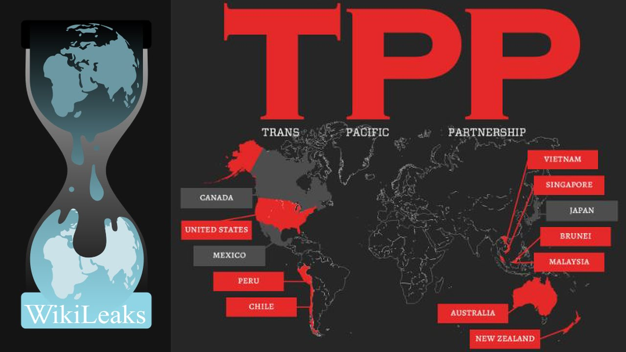 Wikileaks Is Raising 100000 Reward For The Trans Pacific