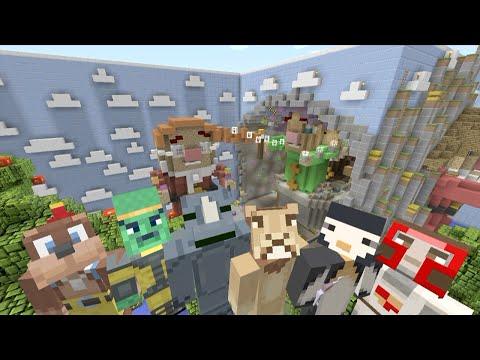 Minecraft Xbox - Hide and Seek - 7 Dwarfs!