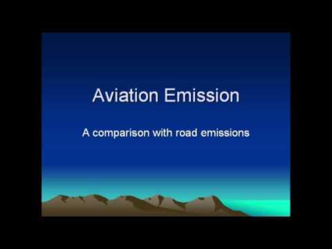 Car vs plane emissions