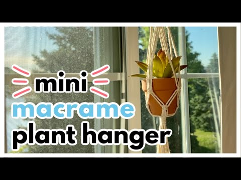 diy-mini-macrame-plant-hanger-with-beads-//-quick-and-easy-tutorial!