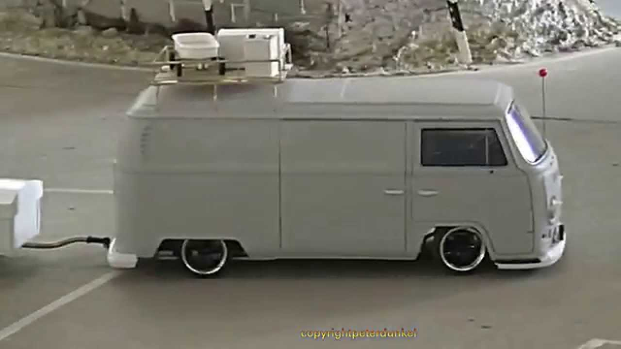 vw bus scale 1 16 dickie toy youtube. Black Bedroom Furniture Sets. Home Design Ideas