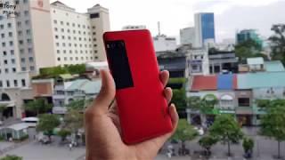 [Smartphone] Trên tay Meizu Pro 7 đỏ đầu tiên tại Việt Nam - Màn hình lưng cực ấn tượng - Tony Phùng