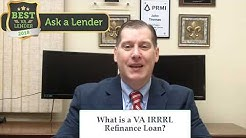 Delaware VA IRRRL Streamline Refinance Loan
