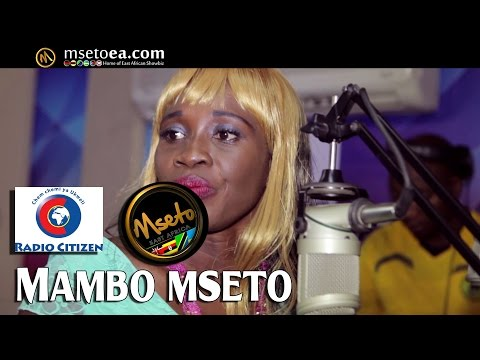 South Sudan's Mary Boyoi Live On Mseto EXtra Radio Citizen W