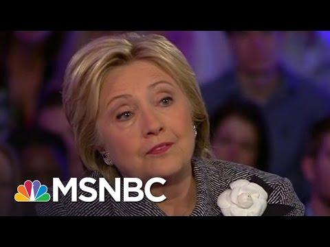 Hillary Clinton Defends Her Iraq War Vote | Hardball | MSNBC