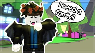 I became a Vampire Child looking for a family! (Roblox Roleplay)