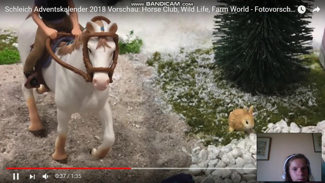 Calendrier De Lavent Schleich Chevaux 2019.Calendrier De L Avent Schleich De L Annee 2018