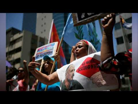 28 protesters killed in Eritrea, opposition group says