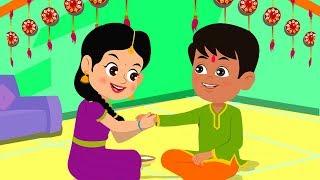Happy Raksha Bandhan | Celebration Songs For Kids | Kids Rhymes | Cartoon Videos For Children