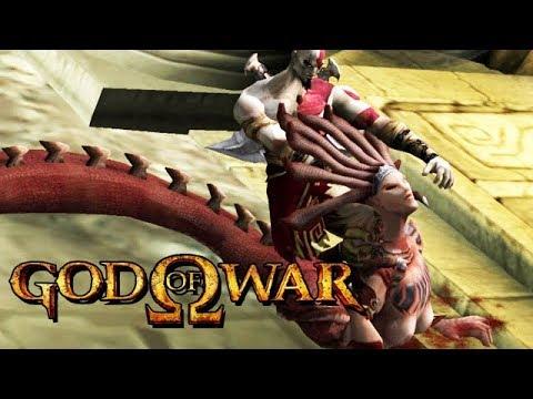 God of War HD Gameplay German #02 - Der Kopf der Medusa