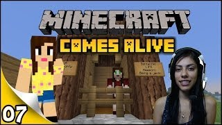 Minecraft Comes Alive - Ep 7 - Julia in Jail!