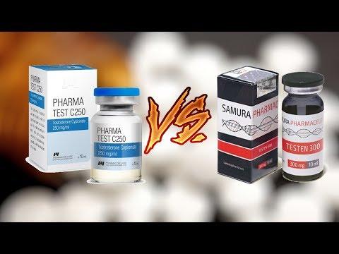 Тестостерон Ципионат или Энантат. Что выбрать? Эффект и сравнение