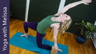 Hatha Yoga for Healing,  Heart Stabilization Series, Yoga with Melissa 376