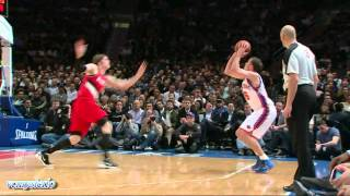 New York Knicks 19 3pt vs Trail Blazers (03.14.2012)