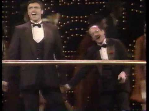 Michael Jeter & Brent Barrett in Grand Hotel