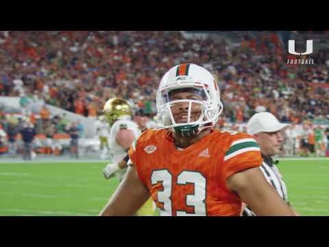 Notre Dame vs. Miami | Cinematic Highlights | 11.11.17
