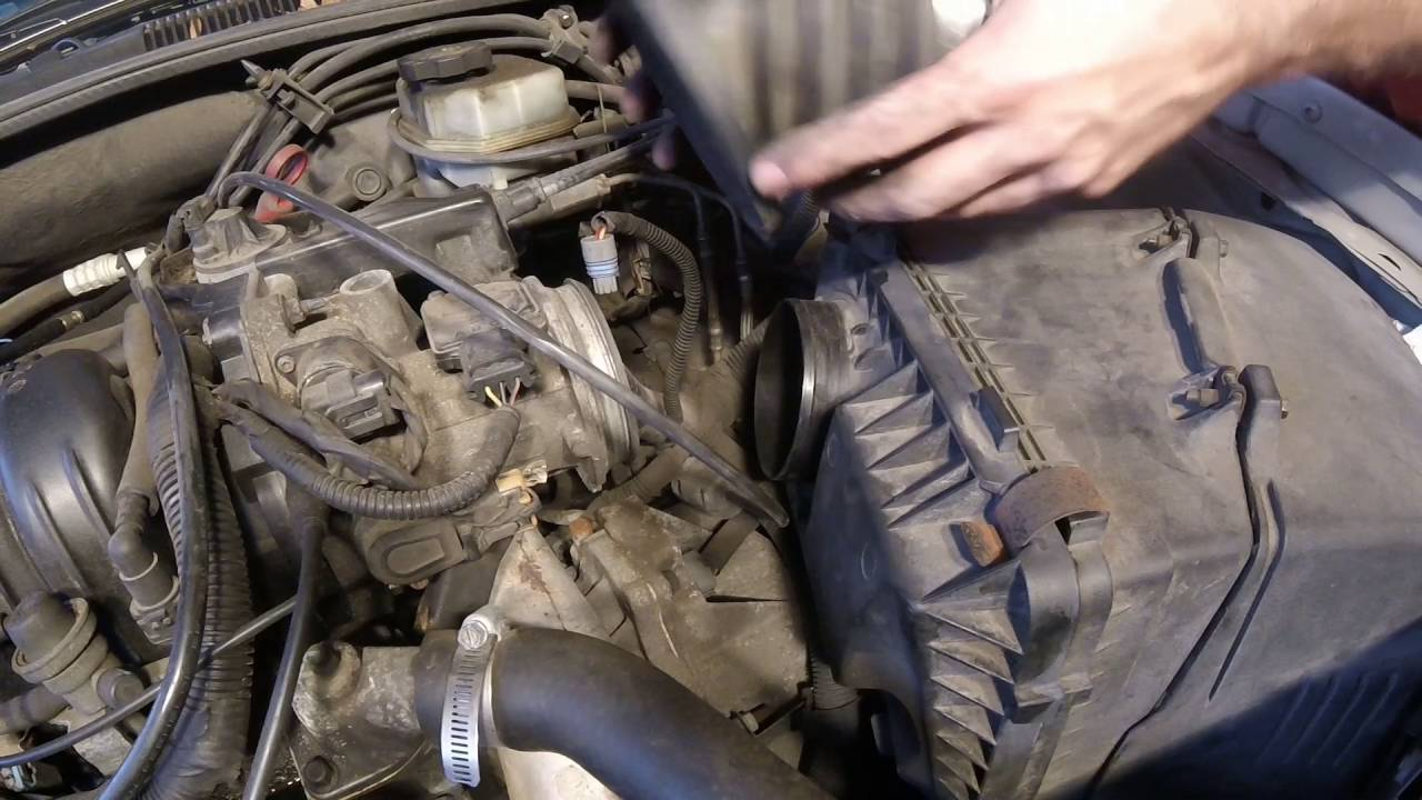 air filter replacement 01 pontiac bonneville 3 8l [ 1280 x 720 Pixel ]