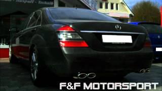sportauspuff mercedes diesel s320 cdi export sport exhaust version
