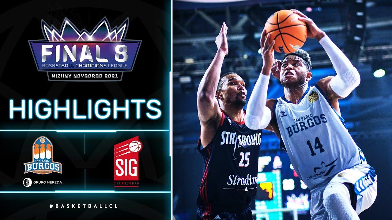 Hereda San Pablo Burgos v SIG Strasbourg - Highlights | Basketball Champions League 2020/21