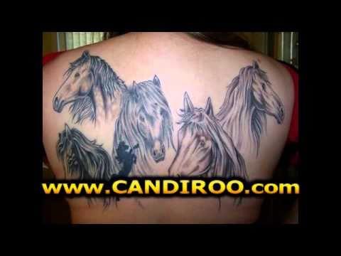 tatuajes de caballos youtube. Black Bedroom Furniture Sets. Home Design Ideas