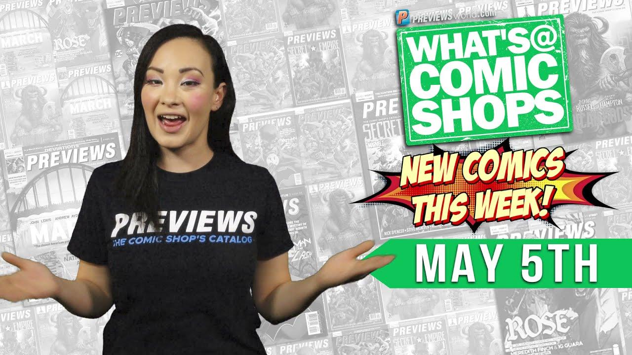 WAR OF THE BOUNTY HUNTERS, NOCTERRA, JOJO'S BIZARRE ADVENTURE: What's @ Comic Shops for 5/5/2021