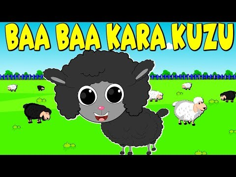 Baa baa Кara Kuzu | Baa Baa Black Sheep in Turkish | Çizgi Film Bebek Şarkıları 2018 | Balon TV