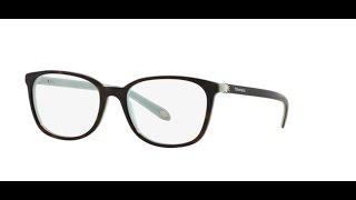 Tiffany 2109HB Eyeglasses 8134 HAVANA BLUE