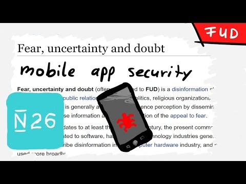 Some thoughts on Mobile App Security - is it FUD?