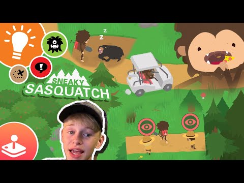 stealing-golf-carts-&-getting-chased-by-rangers---sneaky-sasquatch!!!!---apple-arcade-gaming