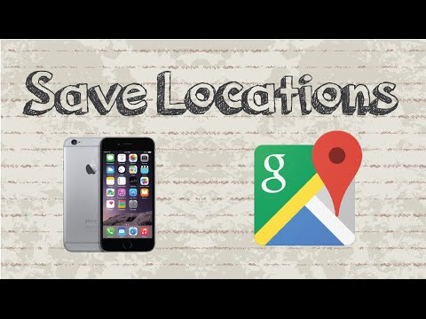 How to save locations on Google Maps | Mobile App (Android & Iphone)