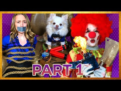 Explosive Birthday Party (Part 1) | Duct Tape Rope Challenge (Comedy Short Film)
