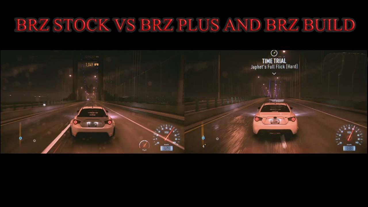 Need For Speed 2015 Subaru BRZ STOCK VS BRZ PLUS AND BRZ ...