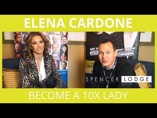 Elena Cardone Interview - Become A 10X Lady