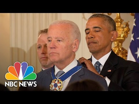President Barack Obama Awards VP Joe Biden The Presidential Medal Of Freedom | NBC News