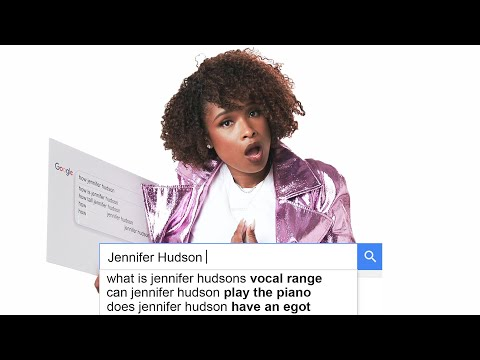 Jennifer Hudson Answers the Web's Most Searched Questions   WIRED