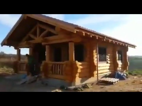 Costruire case con tronchi di legno (Addis) - To create wooden houses ...