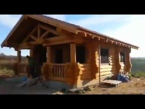 Costruire case con tronchi di legno Addis  To create