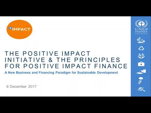 Finance mechanisms to achieve the SDGs
