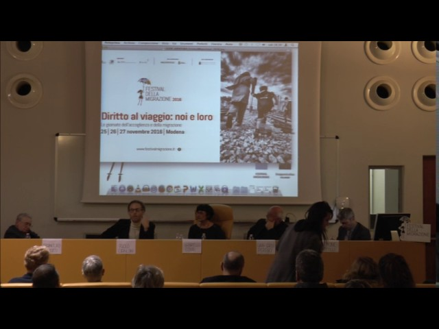 Festival della migrazione 2016 - intervento di Simone Ramilli