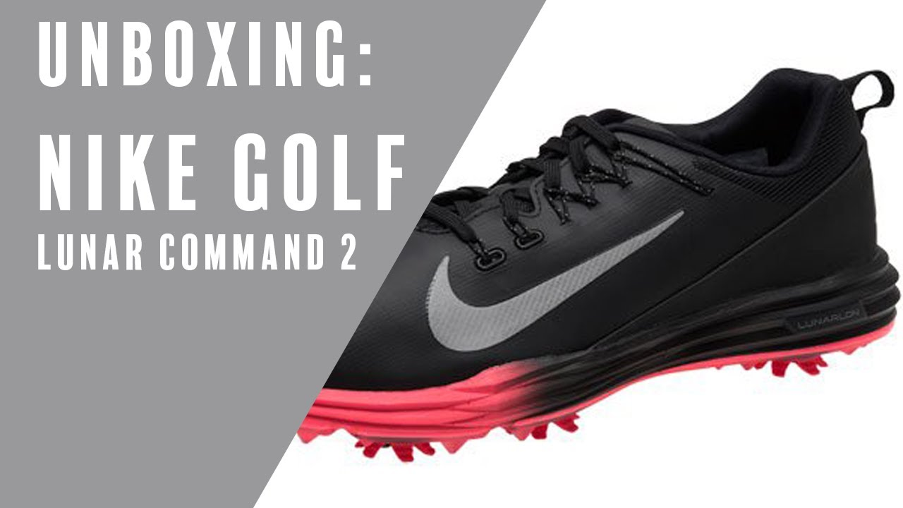 check out 20656 df3ab Nike Golf  Unboxing Lunar Command 2