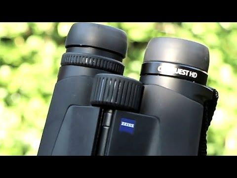 Zeiss Entfernungsmesser Fernglas : Zeiss 10x42 conquest fernglas erlebt von papa: youtube