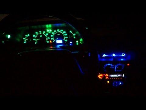 Стайлинг подсветки салона Ваз 2110 замена лампочек на диоды