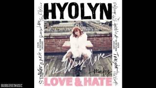 Hyorin (효린) - 립스틱 짙게 바르고 (Red Lipstick) (Feat. ZICO of Block B) [1집 Love & Hate]