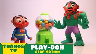 ITSY BITSY SPIDER - Hulk And Superman Blow Candy - Nursery Rhymes & Kids Song