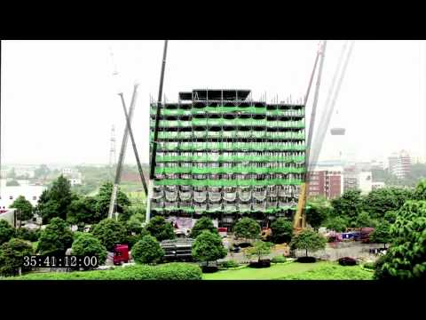 Building a 15 storey hotel in 6 days