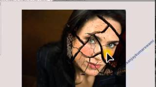 How to Design horror Face in adobe Photoshop cs5 cs6 cs4 cs3 7 0 and all   YouTube