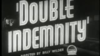 DOUBLE INDEMNITY (1944) BILLY WILDER - TRAILER