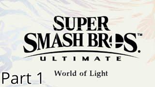 Super Smash Bros Ultimate (World Of Light)Part 1