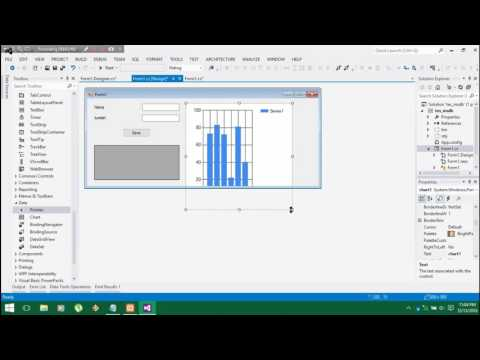 Visual Studio C# - Tutorial of creating Chart with Database | By Antony
